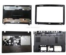 Верхняя крышка рамка Palmrest нижней части чехол для Acer как 5551 5251 5741Z 5741 5741G 5742G 5551G 5552 5552G APOC9000300 60.PSV02.001 б/у