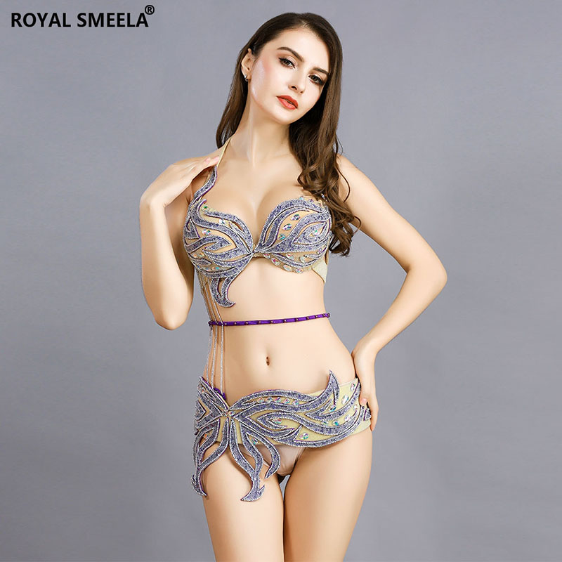 Image 2 - New Arrival  Belly dance Costume Hot Sexy Bellydance Carnival set  Bellydancing Clothes Club Night Performance Wear:BRA