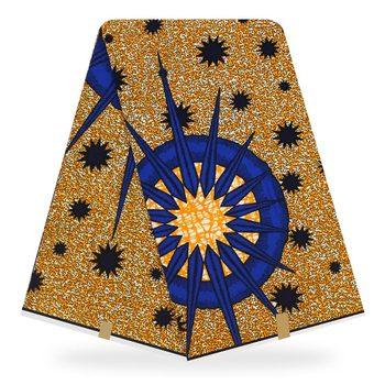 african fabric Guaranteed Veritable Wax African Ankara Real Ghana 6 Yards Printed Fabric 100% cotton