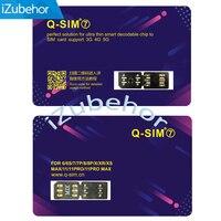 Suporte ios13 Q SIM 7 para iphone 6 6 plus  7 7 plus  8 8 plus  x  max  ix xr  xs 5g lte perfeito duplo adaptador de cartão sim|Adaptadores de cartão SIM| |  -