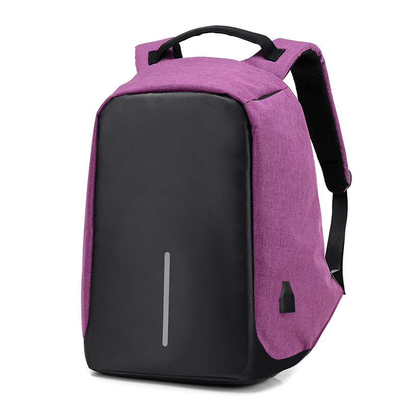 Image 5 - 15 inch Laptop Backpack USB Charging Anti Theft Backpack Men Travel Backpack Waterproof School Bag Male Mochila 2019 Laptop Bags-in Backpacks from Luggage & Bags