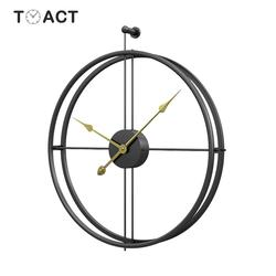 55cm duży zegar ścienny nowoczesny Design zegary do wystroju domu duże zegary biuro w stylu europejskim wiszący zegar ścienny prezent na boże narodzenie