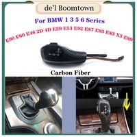 Carbon LED Gear Shift Knob Automatic color of sliverFor BMW 1 3 5 6 Series E46 E39 E60 E90 E92 E82 E87 E38 E84 E83 E53 E86 E89