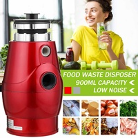 370W 900ml Large Capacity Kitchen Food Garbage Processor Disposal Crusher Food Waste Disposer Grinder Kitchen Sink Appliance