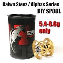 2021 New DAIWA Steez Alphas Series T30 31 Chameleon Ultralight 5.4g DIY BFS Spools Baitcasting Reel for Ryoga Zillion Morethan