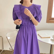 2020 New Arrival Chic Fashion Solid Two Colors Hot Summer Ro