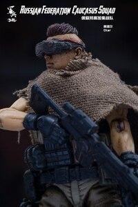 Image 3 - JOYTOY 1/18 figurka żołnierzy (3 sztuk/partia) federacja rosyjska kaukaz model doll darmowa wysyłka
