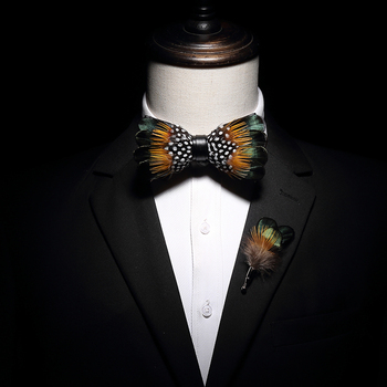 Free Shipping New fashion men's male party Handmade Korean style Japanese Western European main male and female bow tie set