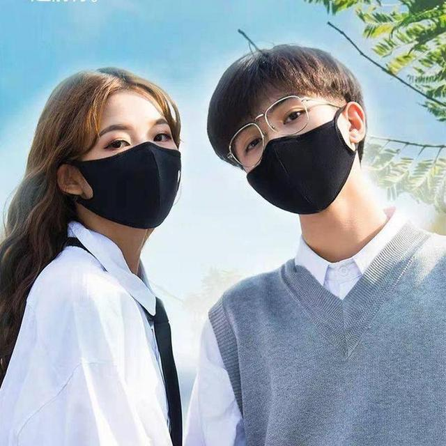 1pc Reusable Ice cotton Masks Mouth Mask Cotton Blend Anti Dust And Nose Protection Face Mouth Mask Fashion For Man Woman 3