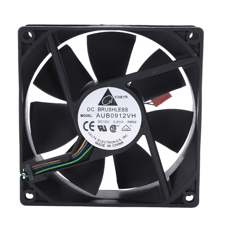 90*90*25MM DC 12V 0.60A 4-pin Computer Cpu Cooling Fans