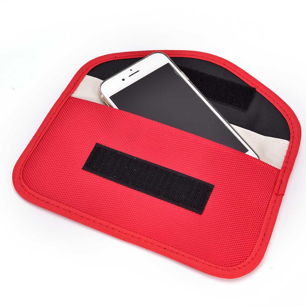 Anti Radiasi Sinyal Shielding Blocker Tas Cell Phone RF Sinyal Shielding Blocker Case Tas Kantong