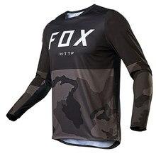 2021 Men's Downhill Jerseys RACE FACE Mountain Bike MTB Shirts Offroad DH Motorcycle Jersey Motocross Sportwear Clothing FOX