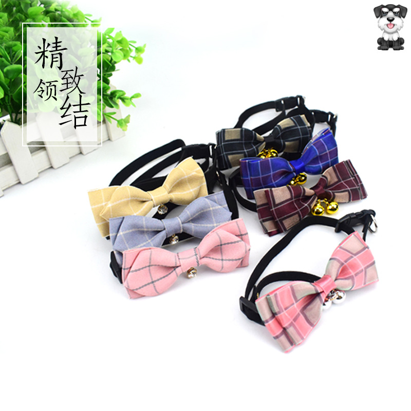Pet Supplies Accessories Dog Bowtie Neck Ring Bow Teddy Puppy Cat Pet Bow