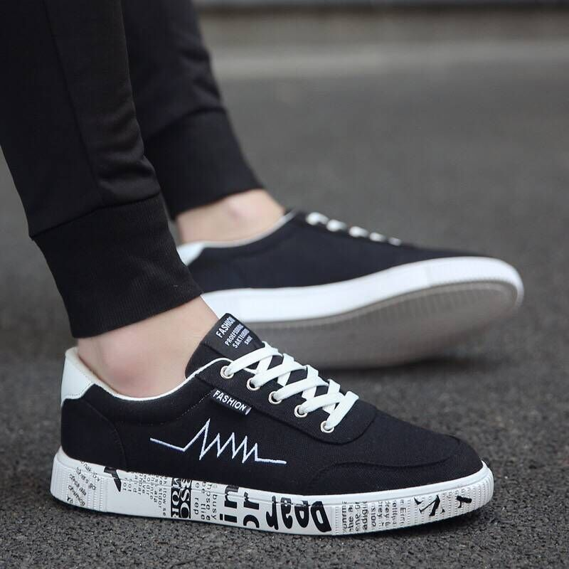 New 2019 Spring Summer Canvas Shoes Men