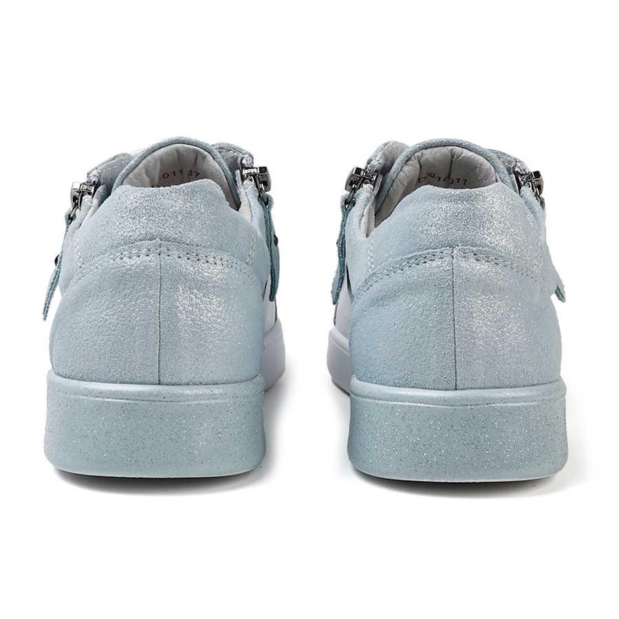 STQ 2020 nowych kobiet mieszkania buty oryginalne skórzane buty sportowe damskie buty zasznurować obuwie damskie mieszane kolor Oxford buty 16010