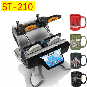 ST-210 2 in 1 Combo Double Station Mug Press Machine Mup Printing Machine Sublimation Printer for 6oz/9oz/11oz/12oz/17oz Cup