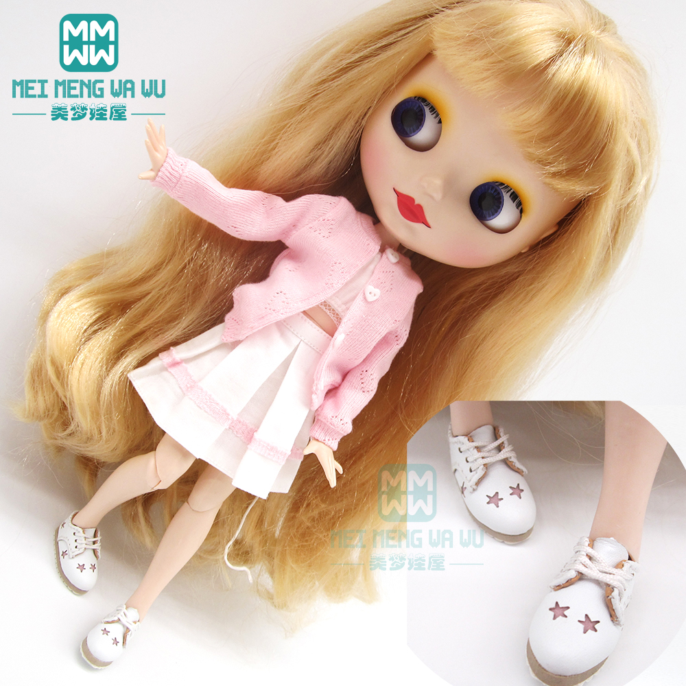 1pcs Blyth Doll Clothes Pink Skirt, Sweater, Tube Top For Blyth Azone OB23 OB24 1/6 Doll Accessories