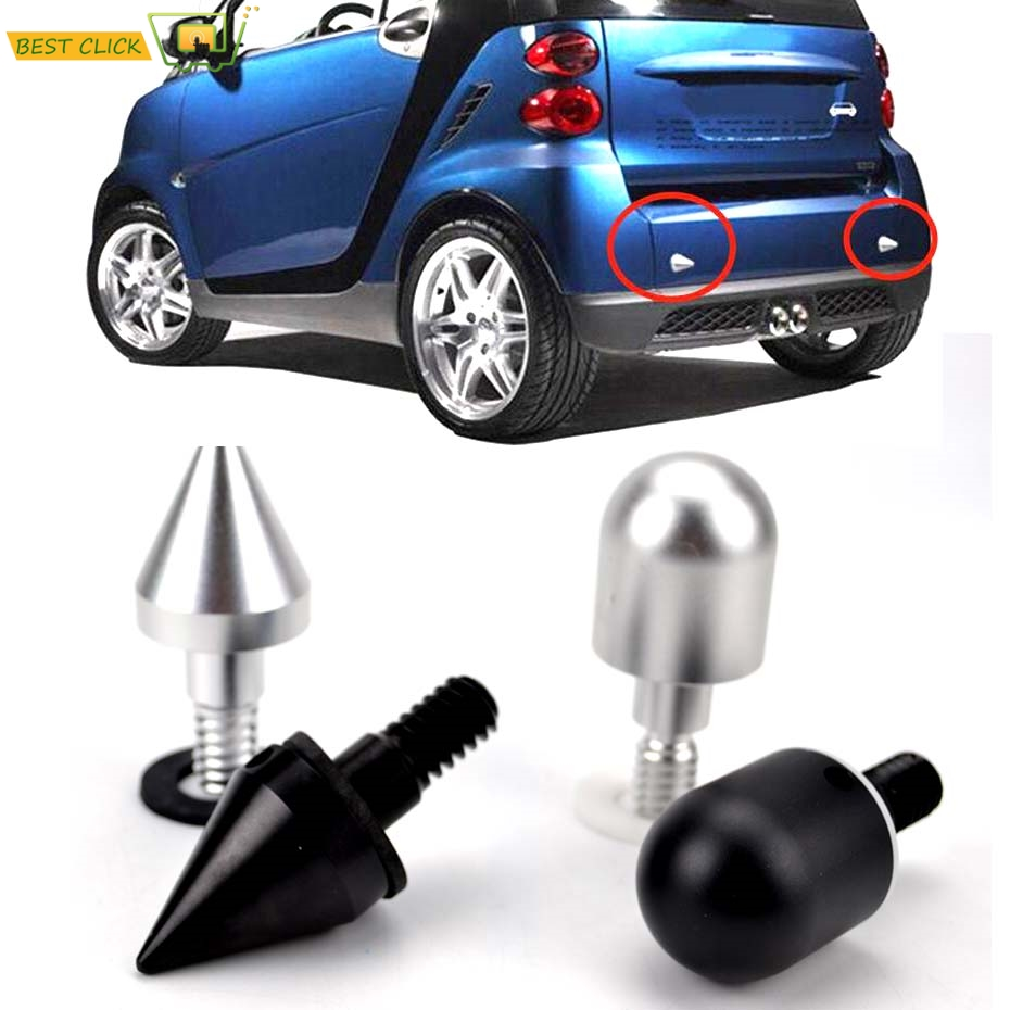 Car Rear Bumper Spike Guard Protector for Benz SMART Fortwo W 451 W451 2008 2009 2010 2011 2013 2014 Anti Collision clips