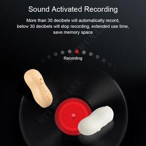Image 5 - STTWUNAKE Voice recorder Dictaphone pen audio sound mini activated peanut digital professional micro