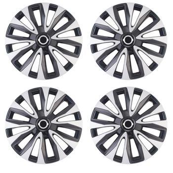 Car Wheel Cap 15 Inch Vehicle Rim Skin Cover ABS Hubcap Covers Automobile Decoration Accessories 4 Pcs/Set