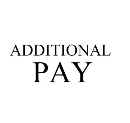 Pagamento adicional em seu pedido, por favor entre em contato conosco antes de pagar por ele