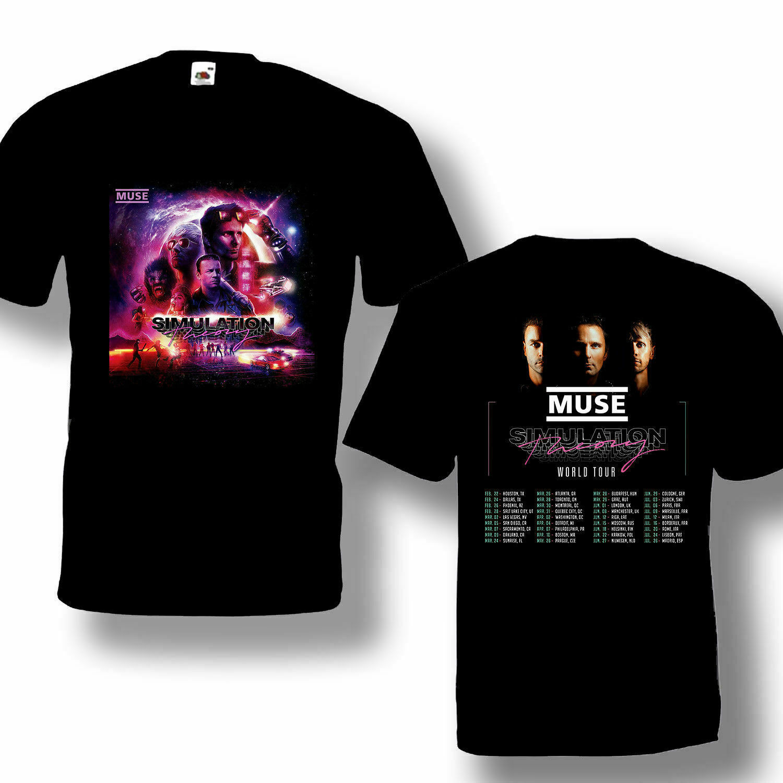 NEW MUSE T-Shirt Simulation Theory Tour 2019 logo T-shirts S-3XL