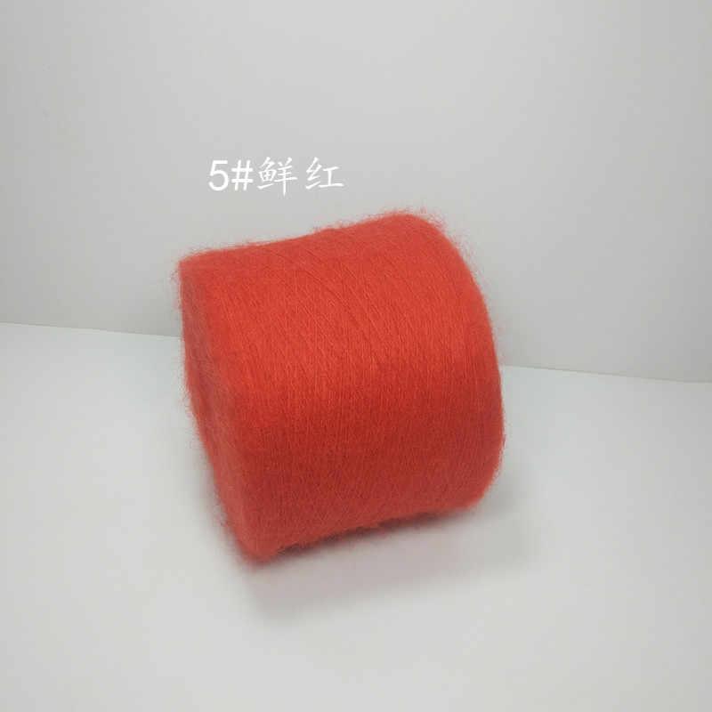 250 gr/los Angora mohair ,dacron Garn Für Stricken Hand stricken linie Häkeln gewinde zu stricken lanas madejas lanas ovillos ZL35