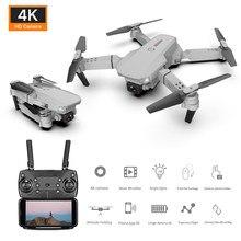 HGRC E88 RC Drone z 4K kamera HD Wifi Fpv składany Quadcopter wysokość trzymaj Selfie profesjonalne zabawki drony dla chłopców 10 lat
