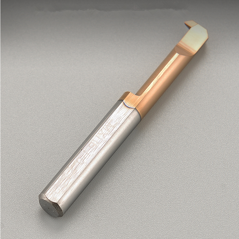 MXR MXR4R0.1 L10 MXR4R0.15 MXR5R0.2 L15 MXR6R0.2 L22 Back Turning Tool Solid Carbide Insert Lathe Tools Small Bores CNC