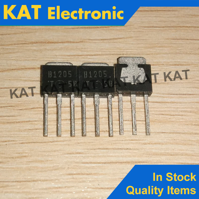 5PCS/Lot 2SB1205 B1205  2SB1205T TO-251 New Original PNP Epitaxial Planar Silicon Transistor