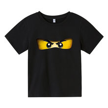 Summer 2021 Children's T-shirts for 4-16 Years Old Boys Clothes Lego Boys Shirts Ninja Short Sleeve T-shirts Girls Clothes Child