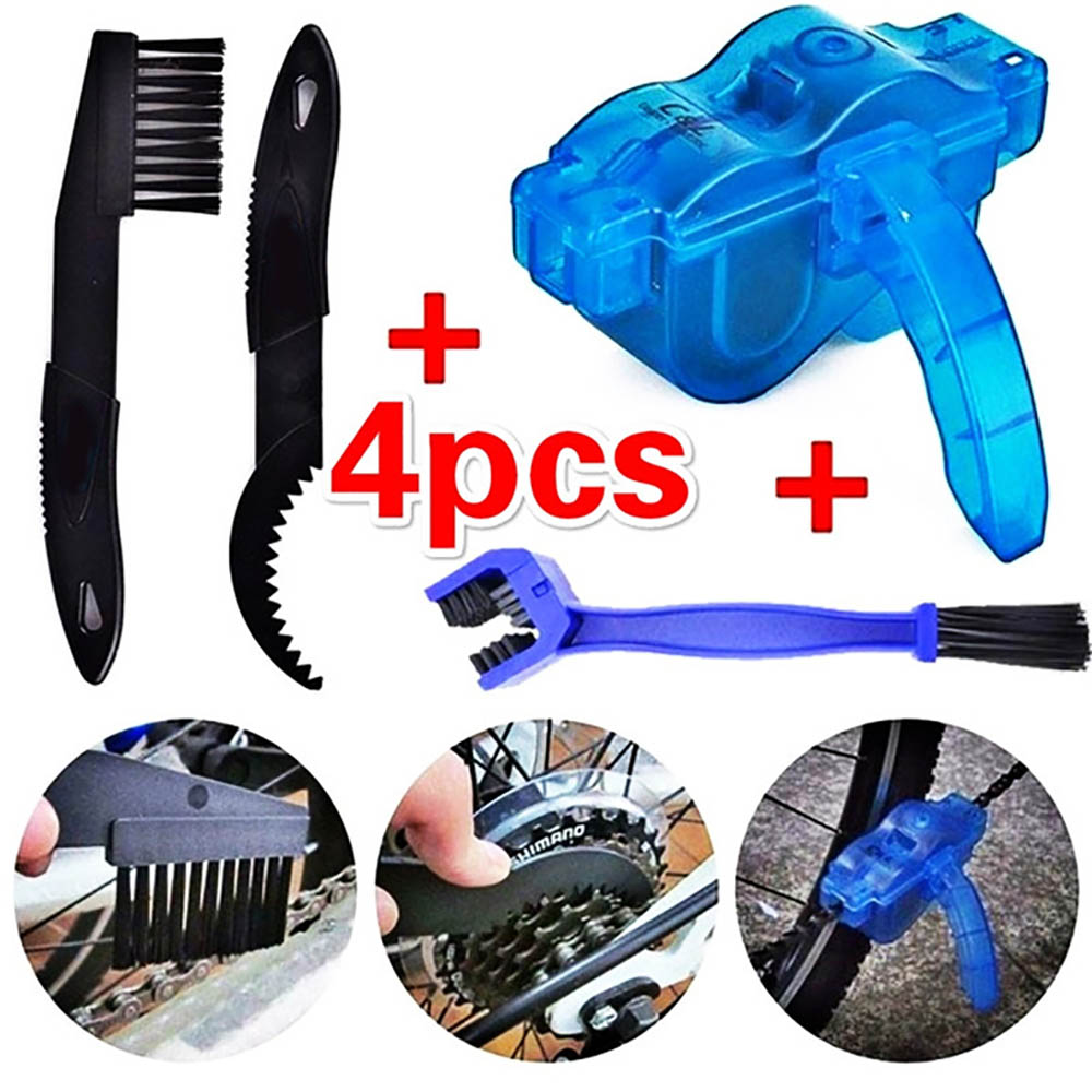Plastic Bicycle Bike Scrubber Brush Scrubber Motorcycle Washer Cycling Clean Chain Cleaner Gear Grunge Car Tools Kits Sale