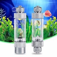 цена Check Valve-Regulator Diffuser Reactor Single-Head or Dual-Head Aquarium CO2 Bubble Counter Air Pump Accessories онлайн в 2017 году