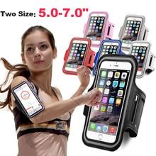 5 - 7 дюймов Спорт на открытом воздухе держатель для телефона чехол для телефона на руку чехол для Samsung брюки для занятий спортом, чехол для те...