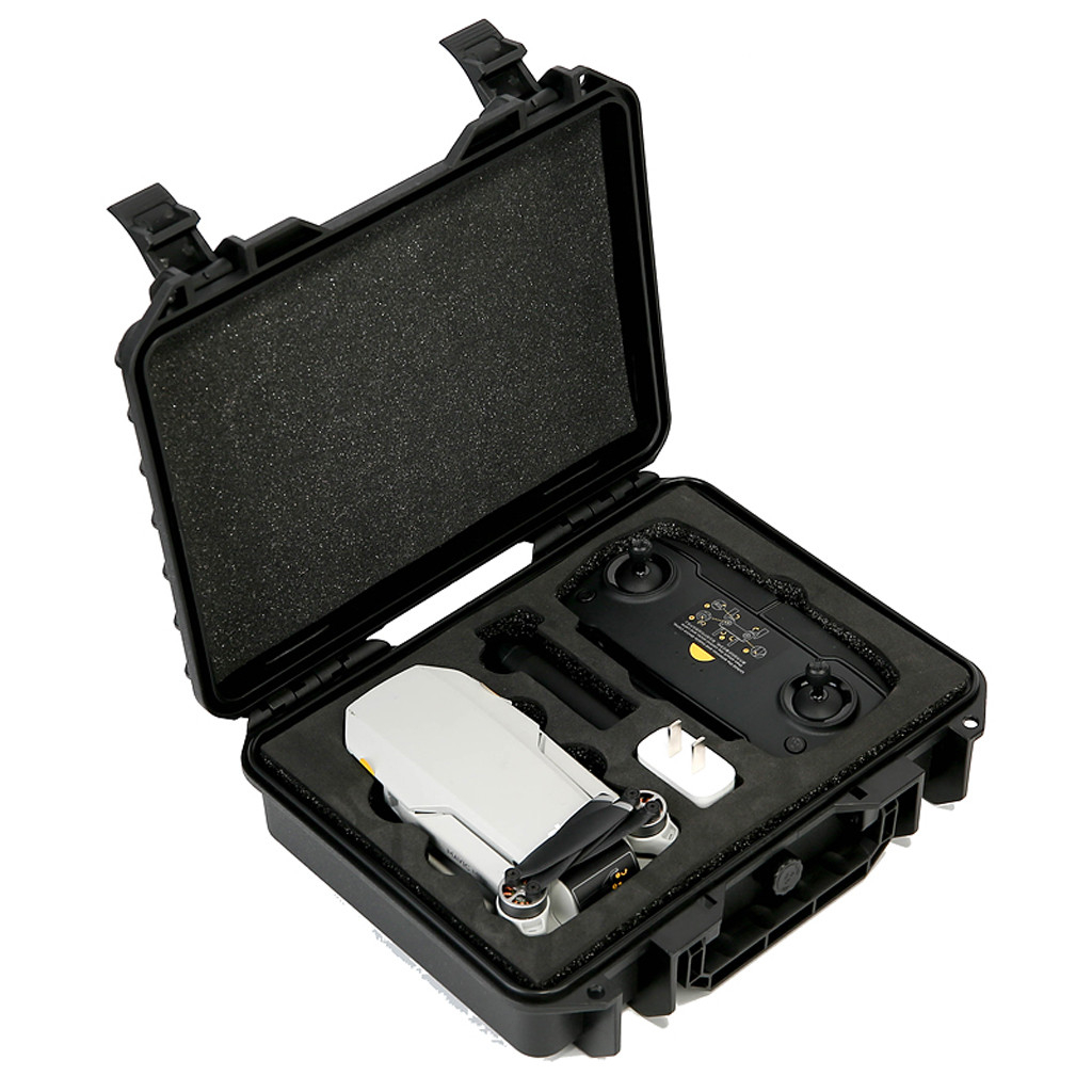 Waterproof Anti-seismic Storage Box For DJI Mavic Mini RC Drone Waterproof Compact Travel Storage Hard Case Box 1121#D