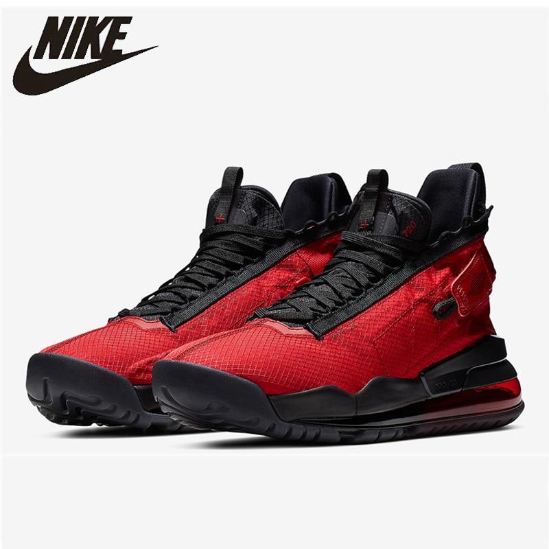 Nike air jordan PROTO-AIR max 720 men basketball sapatos originais preto ouro almofada de ar lazer tênis esportivos # bq6623