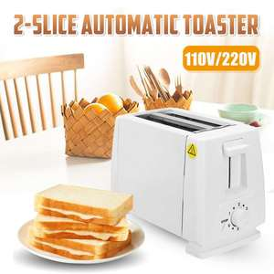 Image 2 - 110V/220V Electric Toaster Household 6 Gears Automatic Bread Baking Maker Breakfast Machine Toast Sandwich Grill Oven 2 Slice