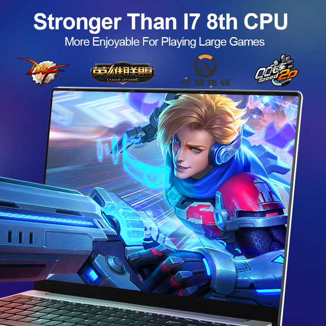 New Intel Core i7-6560U Laptop 15.6 inch 4G/ 8G / 16G DDR4 1TB 128G 256G 512G Notebook Computer Gaming Laptops Backlit Keyboard 2