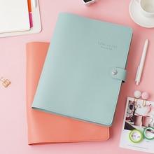 Macaron Cute Spiral Notebooks Stationery Fine Office School Personal Agenda Organizer Binder Diary Weekly Planner Gift B5