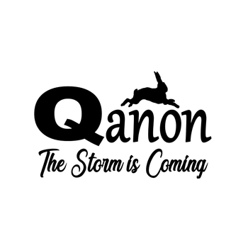 Car Sticker Fashion Funny Qanon The Storm Is Coming Automobiles Motorcycles Exterior Accessories Reflective Vinyl Decals недорого