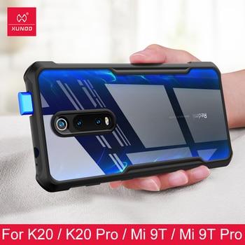 phone case for xiaomi redmi K20 pro mi 9T Pro note 8 pro 9s Ring Protective cover Bumper XUNDD Original Transparent case