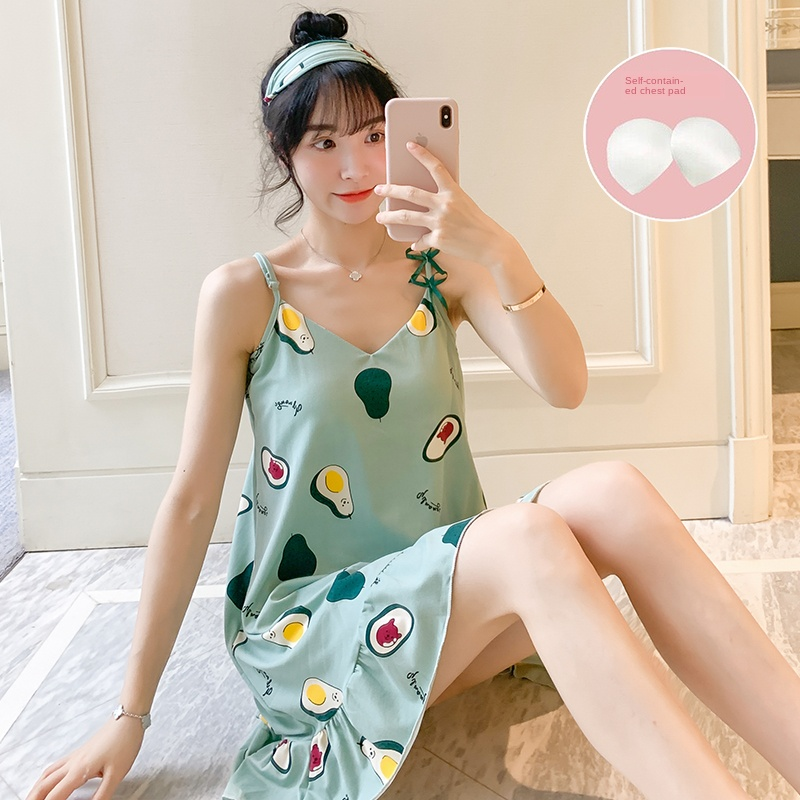 20 Style Young Girl Nightdress Wear Summer Short Sleeve Women Sleepwear Shirt SexyThin Cotton Nightshirt Party Send Eye Mask