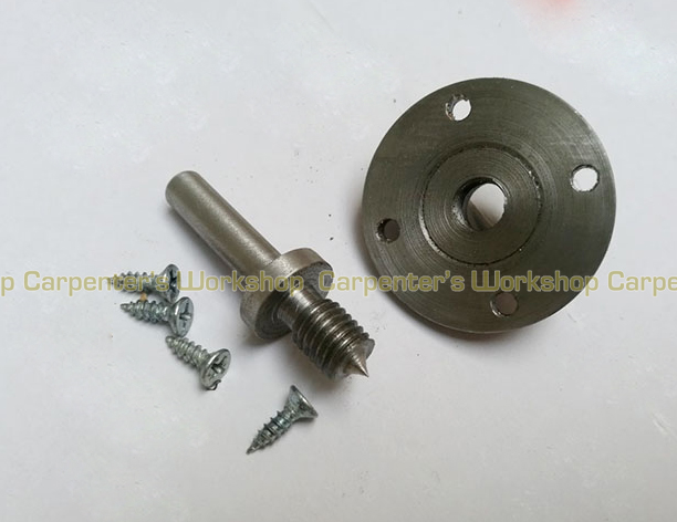 8mm Shank Wood Fixed Tool Lathe Chuck Set Rotating Lathe Accessories Set