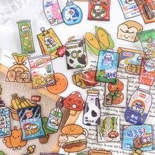 40 teile/los Kawaii Aufkleber Dekorative collage Scrapbooking Hand Konto ästhetische Schule Schreibwaren Stick Label Geschenk Abdichtung