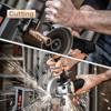 Worx 20V Mini Grinder WX800 115mm Cordless Angle-Grinder Electric Tools Grinding Machine Rechargerable 20V Powershare +Tool Case 3