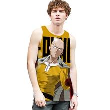 Men's Clothing Vest Bodybuilding-Tank-Tops Print Sports Sleeveless Men Summer 3d 4XL