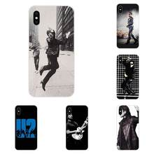 Luxury High-End Phone Case U2 Rock Band For LG G2 G3 G4 G5 G6 G7 K4 K7 K8 K10 K12 K40 Mini Plus Stylus ThinQ 2016 2017 2018(China)