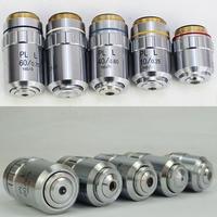 Planachromatisches Objektiv 5X 10X 20X 40X 50X 60X 80X 100X PL A Lange Arbeits Abstand Metallographische Mikroskop 20 2mm /RMS-in Mikroskope aus Werkzeug bei