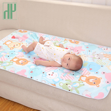 60*90cm Baby Changing Mat Cartoon Cotton Waterproof Sheet Baby Changing Pad Table Diapers Urinal Game Play Cover Infant Mattress yamini naidu power play game changing influence strategies for leaders