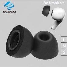 זיכרון קצף אוזן טיפים עבור אפל Airpods פרו החלפת אוזניות אוזניות עבור airpods פרו אטמי אוזניים